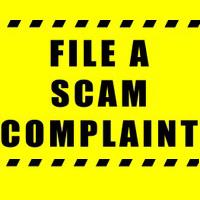 File a scam complaint