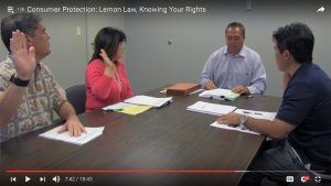 Take Charge of Your Money: Lemon Law, Knowing Your Rights