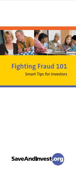 FINRA Fighting Fraud 101