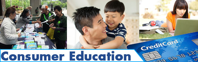 Consumer Education banner